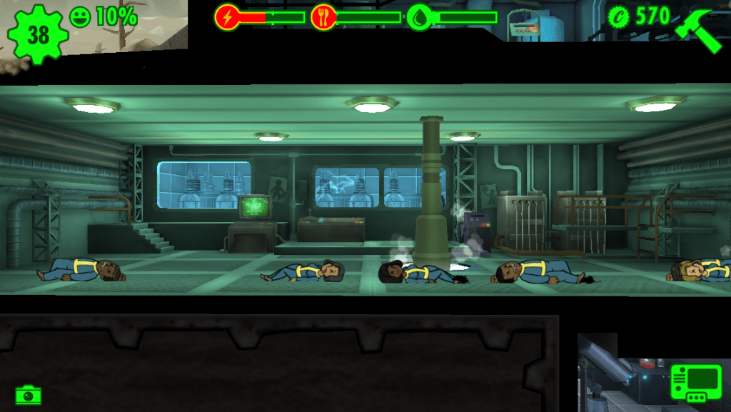 Fallout Shelter : I see dead people