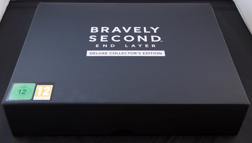 Bravely Second Deluxe Collector Edition Boite