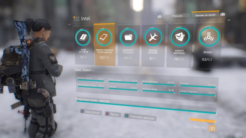 Tom Clancy's The Division collectible Vous avez dit collectibles ?