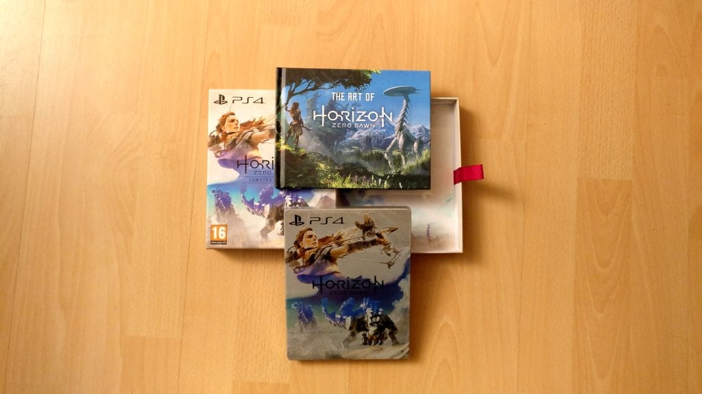 [PS4] Unboxing Horizon Zero Dawn : Limited Edition