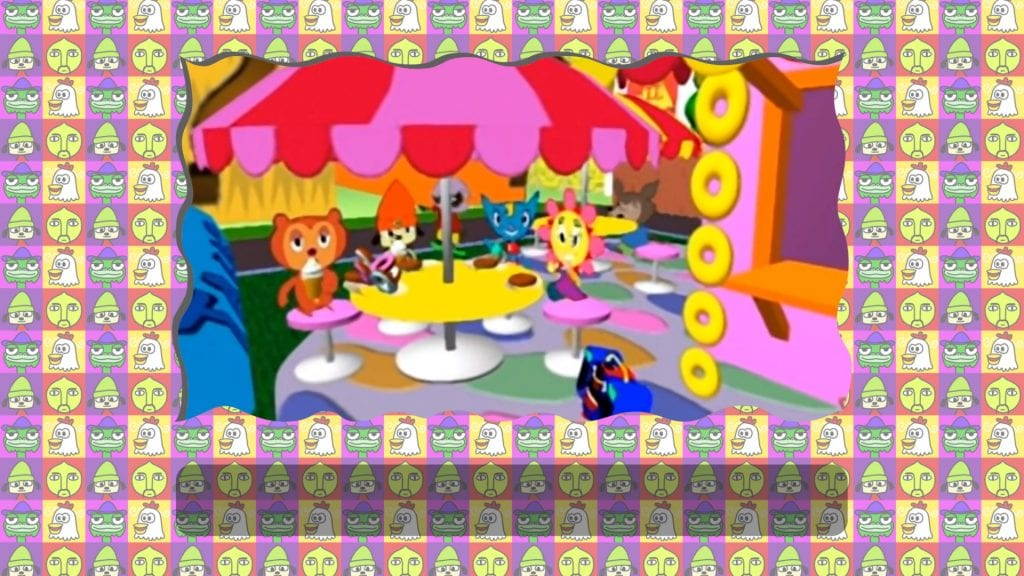 PaRappa The Rapper Remastered test Copains