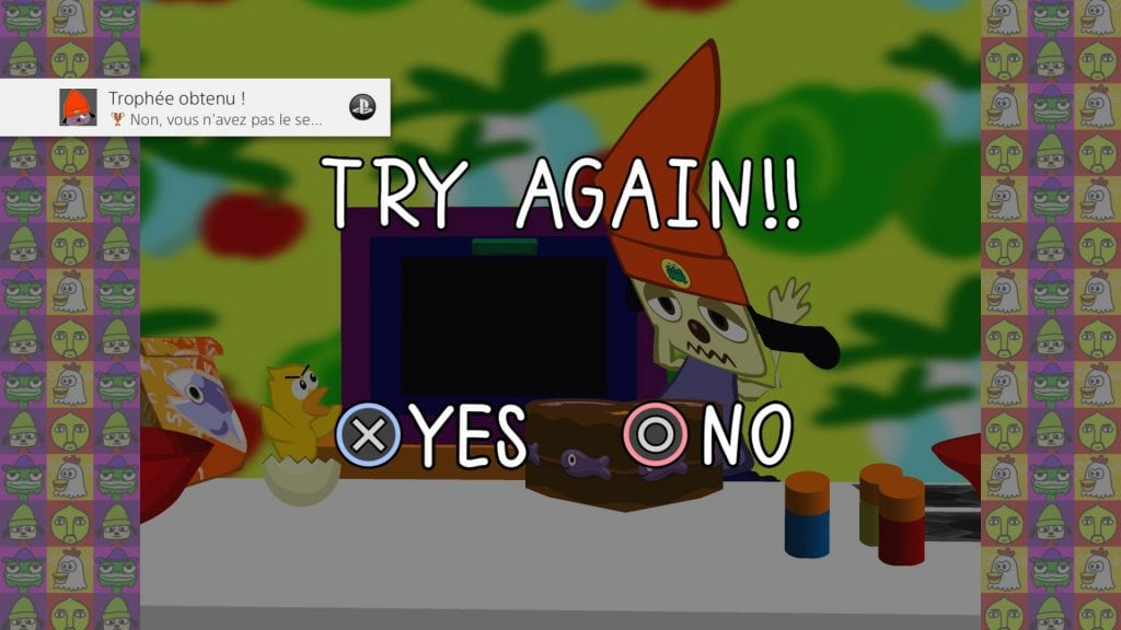 PaRappa The Rapper Remastered Try Again