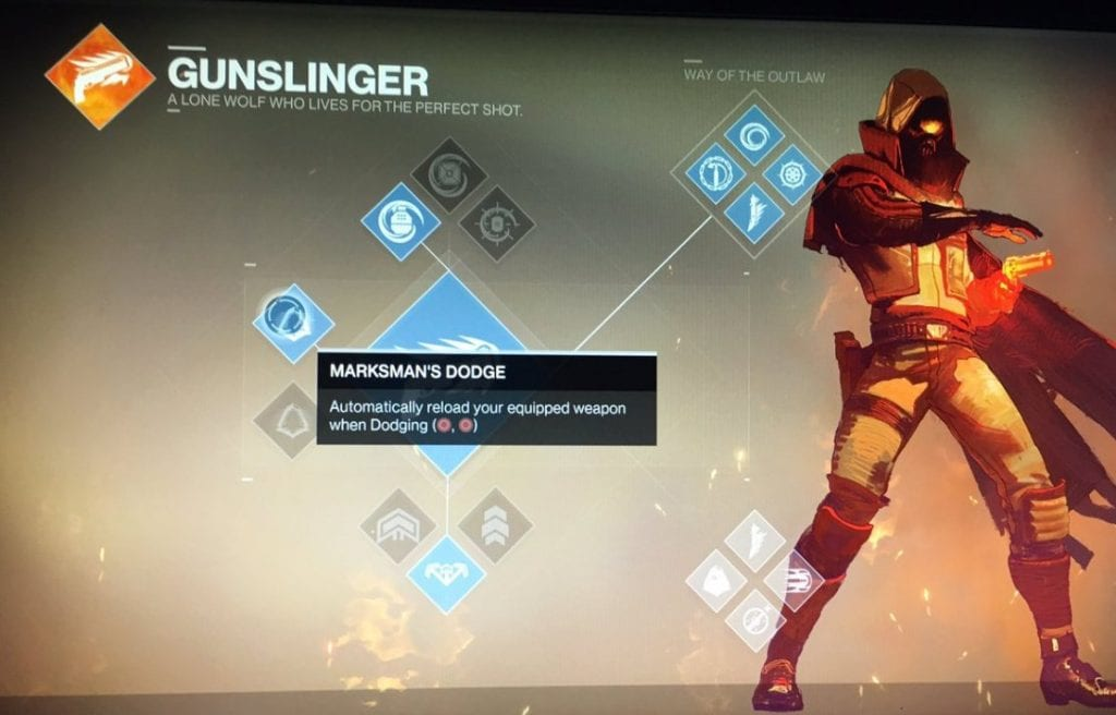 Destiny 2 doctrine Gunslinger