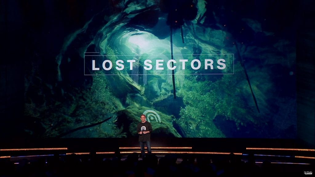 Destiny 2 Lost sectors