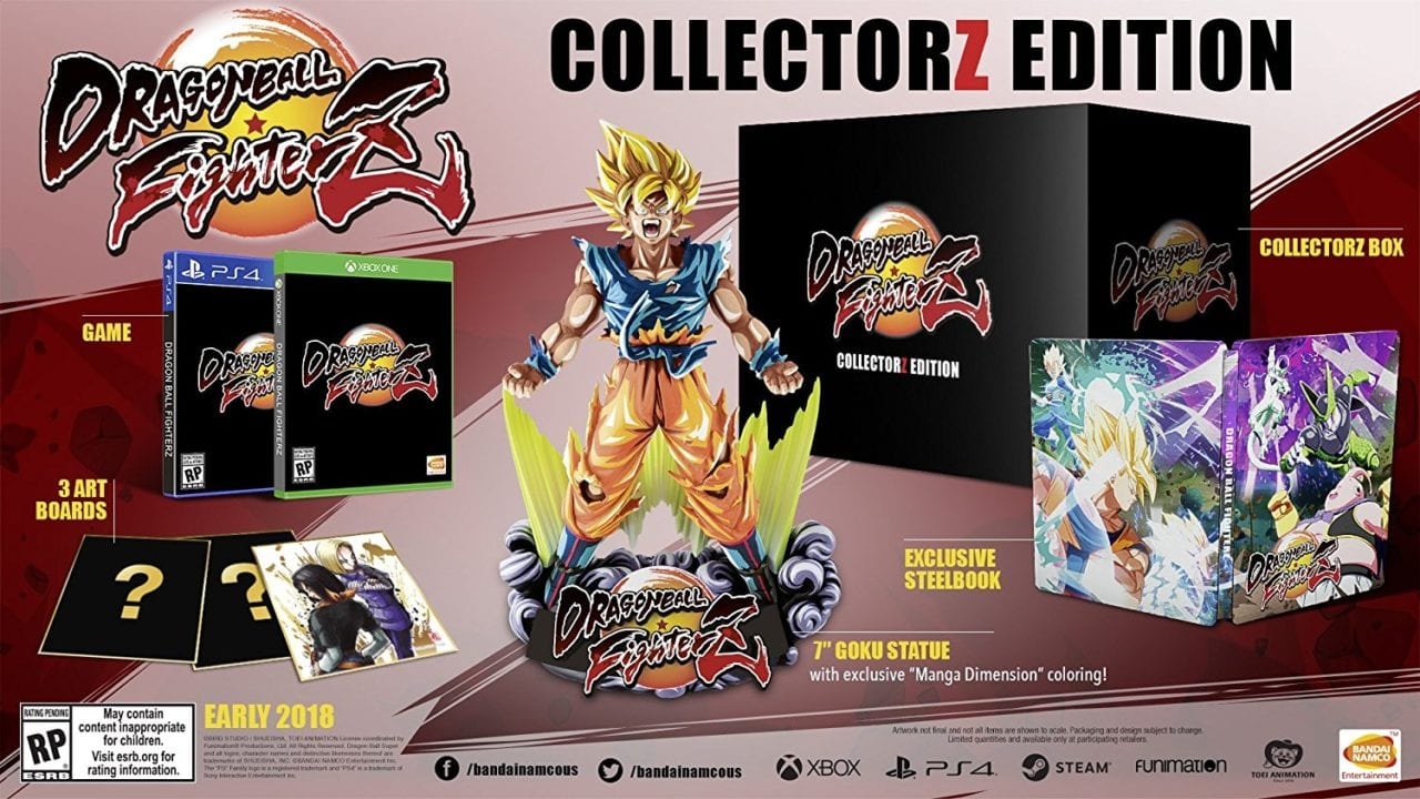 Dragon Ball FighterZ édition collectorZ