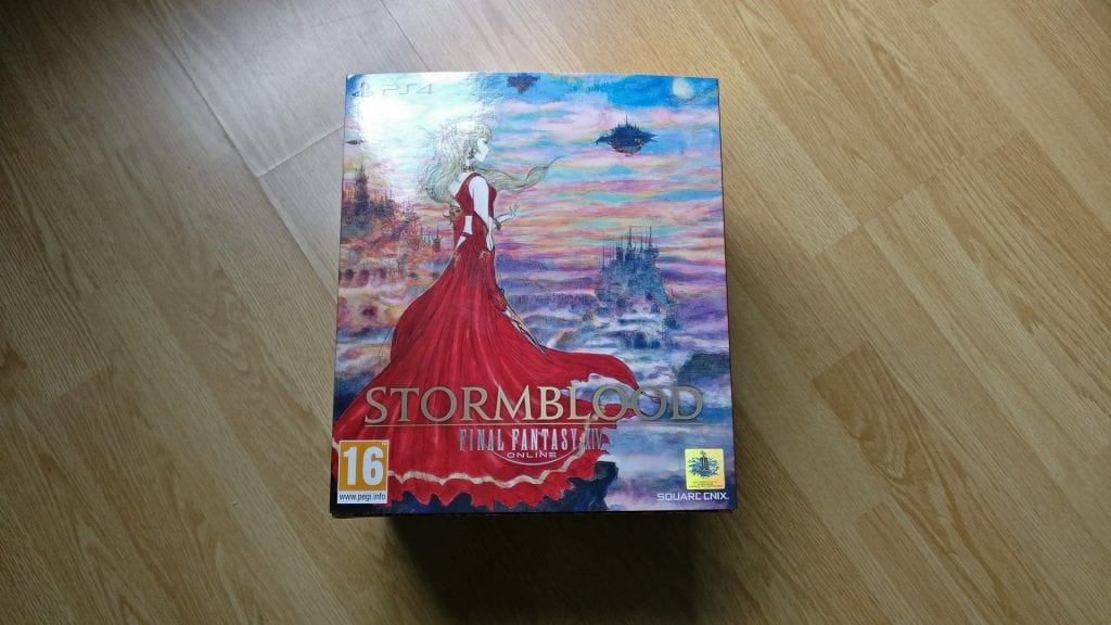 Final Fantasy Stormblood Unboxing