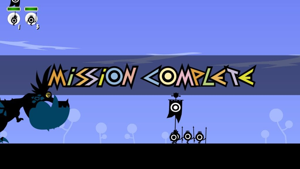 Patapon Mission complete