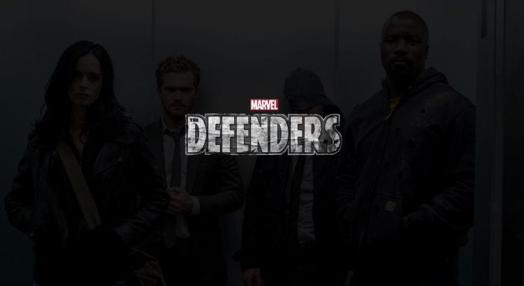 "Daredevil, Luke Cage, Jessica Jones et Iron Fist se réunissent pour lutter contre le mal qui menace leur belle ville de NYC dans la série "" The Defenders ""."