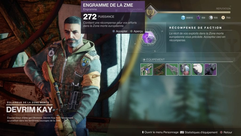 Guide levelling Destiny 2 engramme