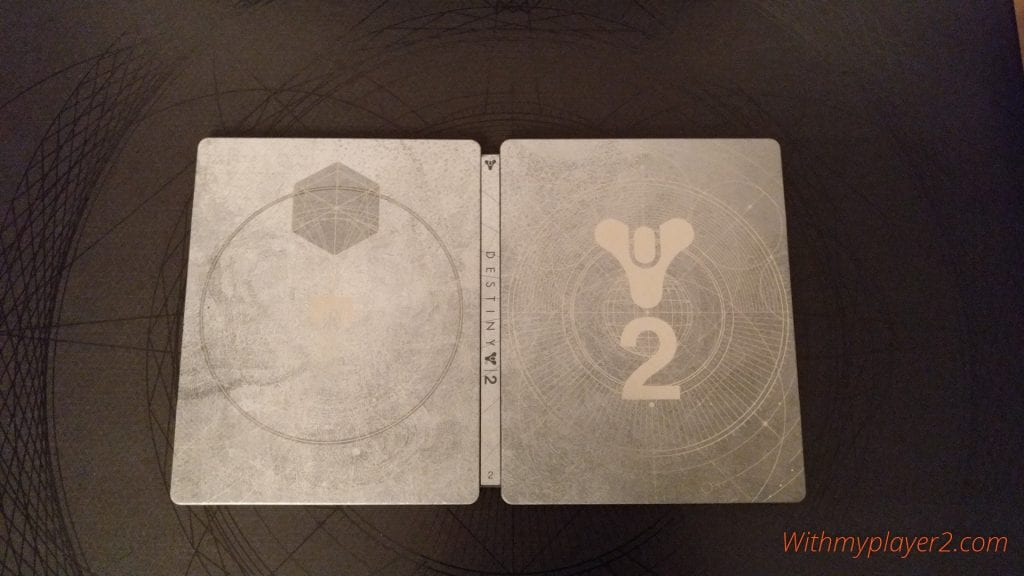 Unboxing Destiny 2 édition collector steelbook
