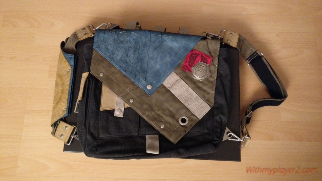 Unboxing Destiny 2 édition collector sac frontier