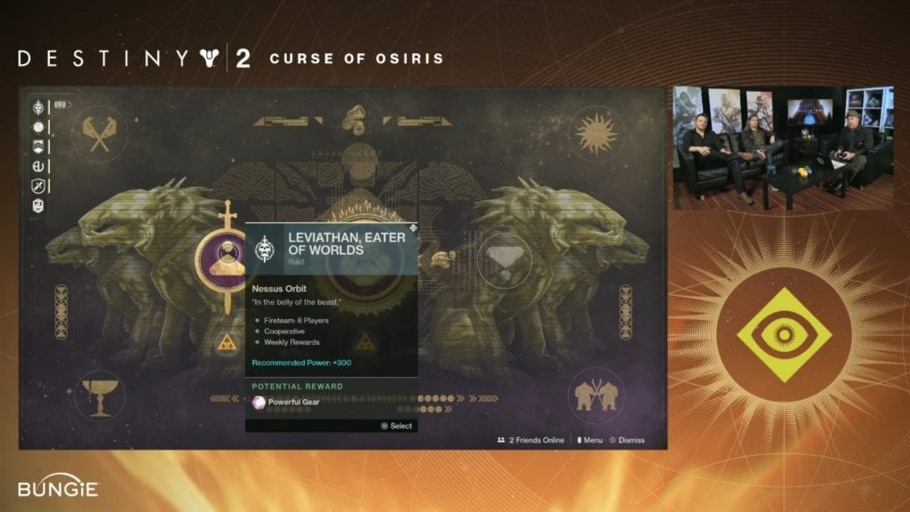 Destiny 2 livestream Osiris raid layer