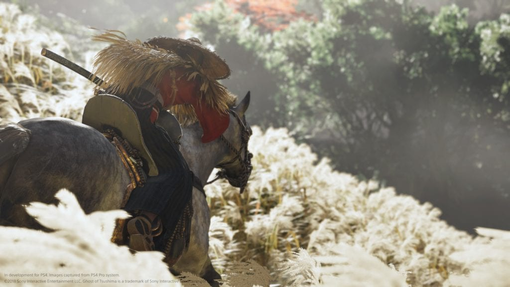 E3 2018 conférence Playstation Ghost of Tsushima (4)