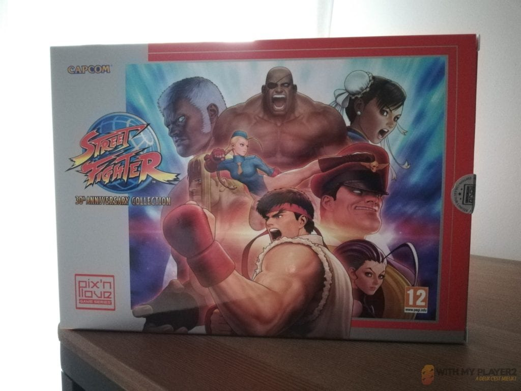 Street Fighter 30th anniversary collection face avant