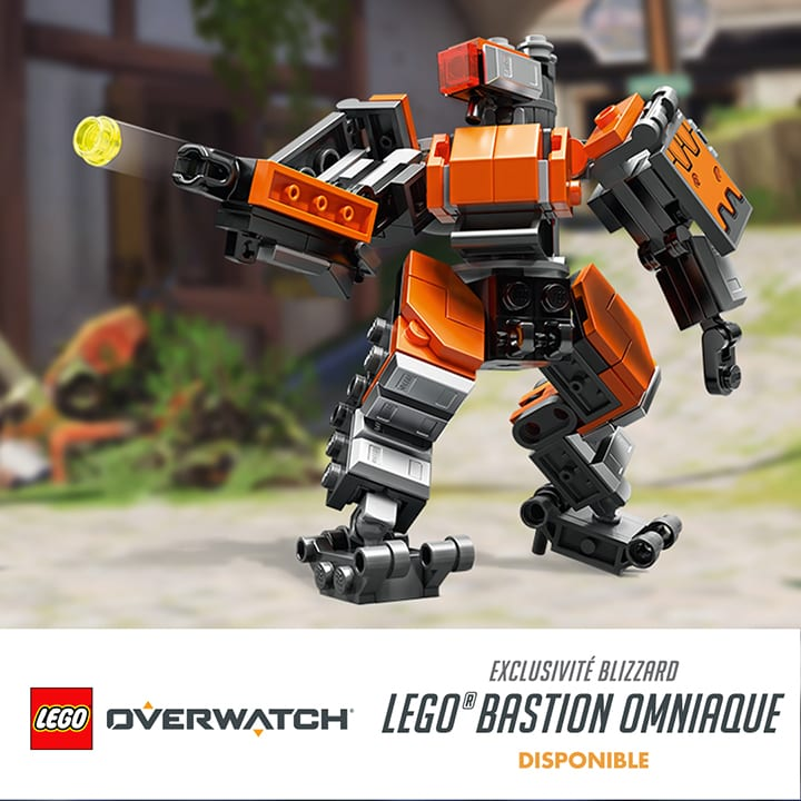 Lego Bastion Overwatch