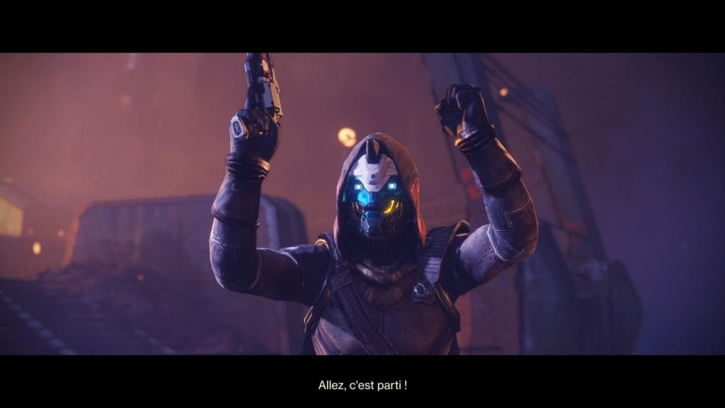 Destiny 2 Forsaken Renegats test PS4