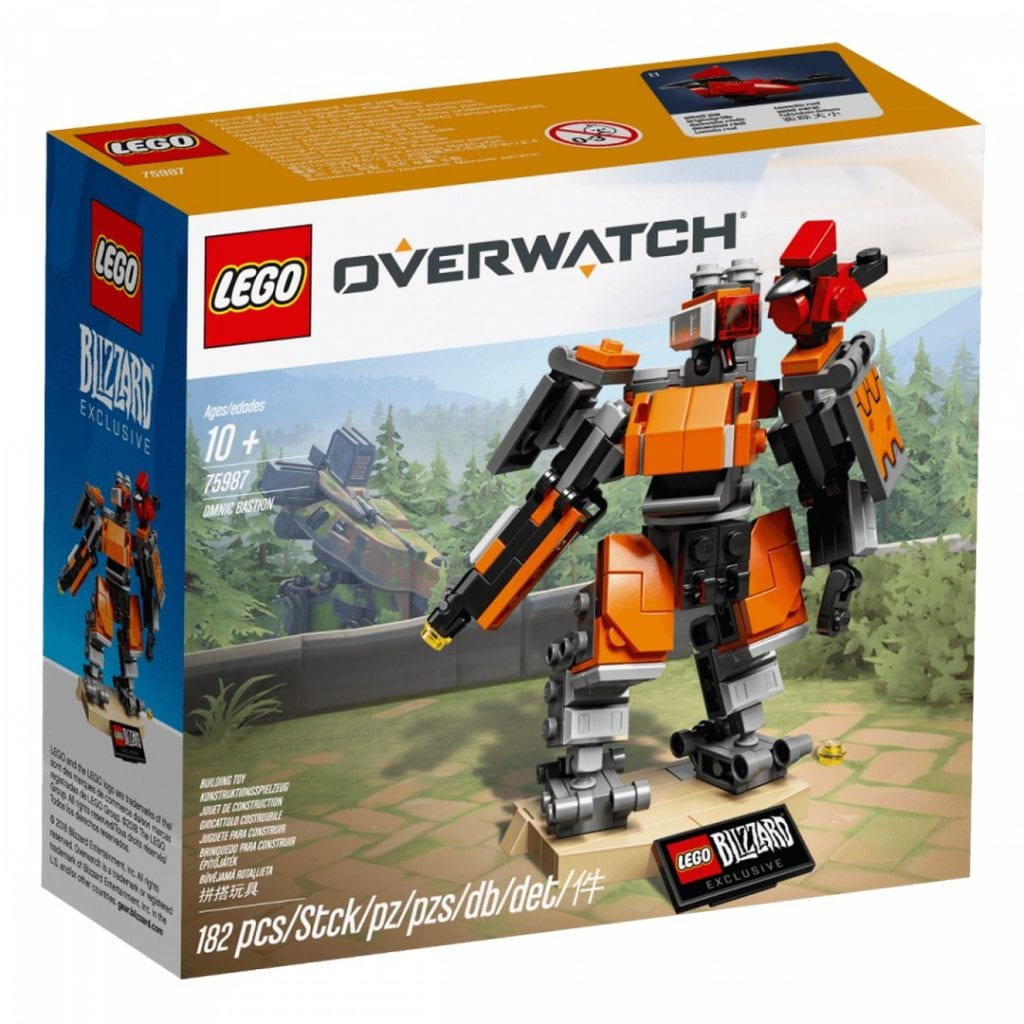 Lego bastion packaging