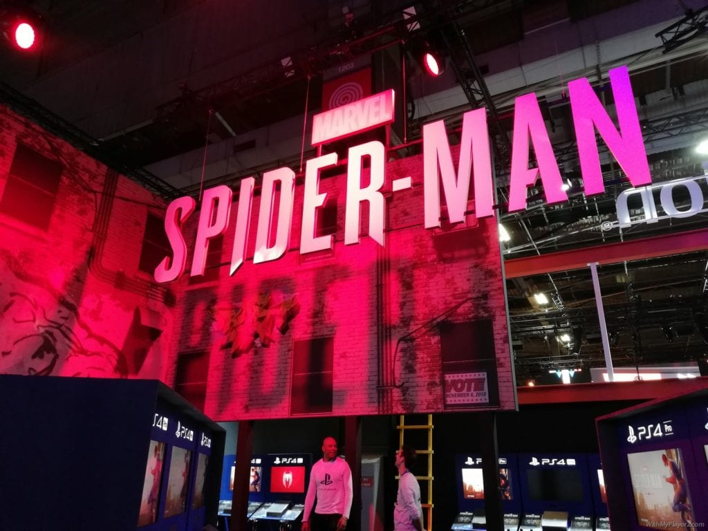 PGW 2018 PlayStation Spider-man